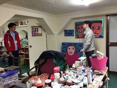 $プサン中央洞エリアでアーティストに無償提供されているアトリエ